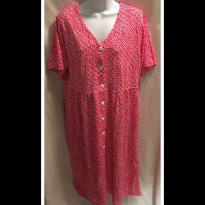 Size Large Leisure Life House Dress Gown NWT